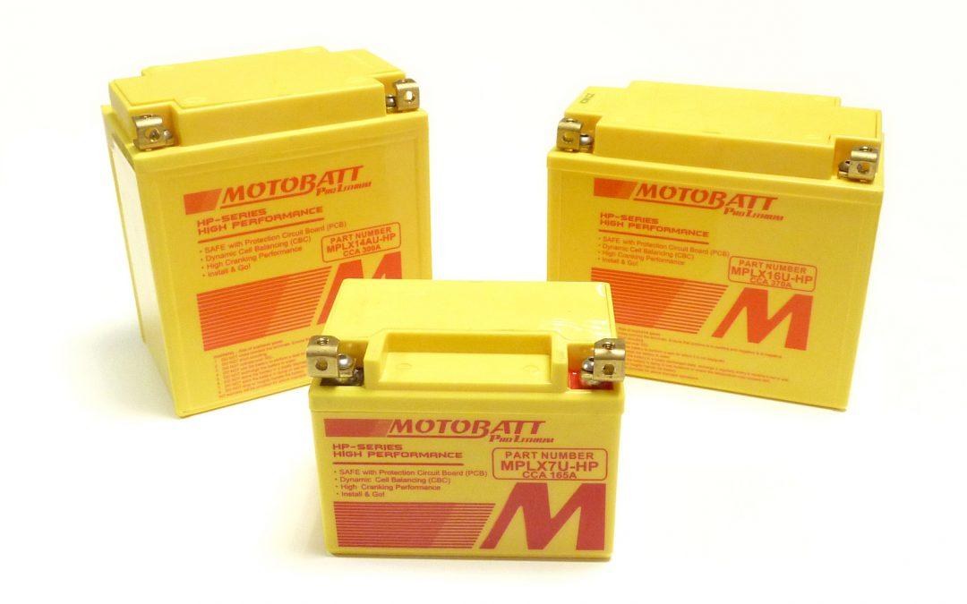 MOTOBATT – Nuovo step per le batterie Litio!