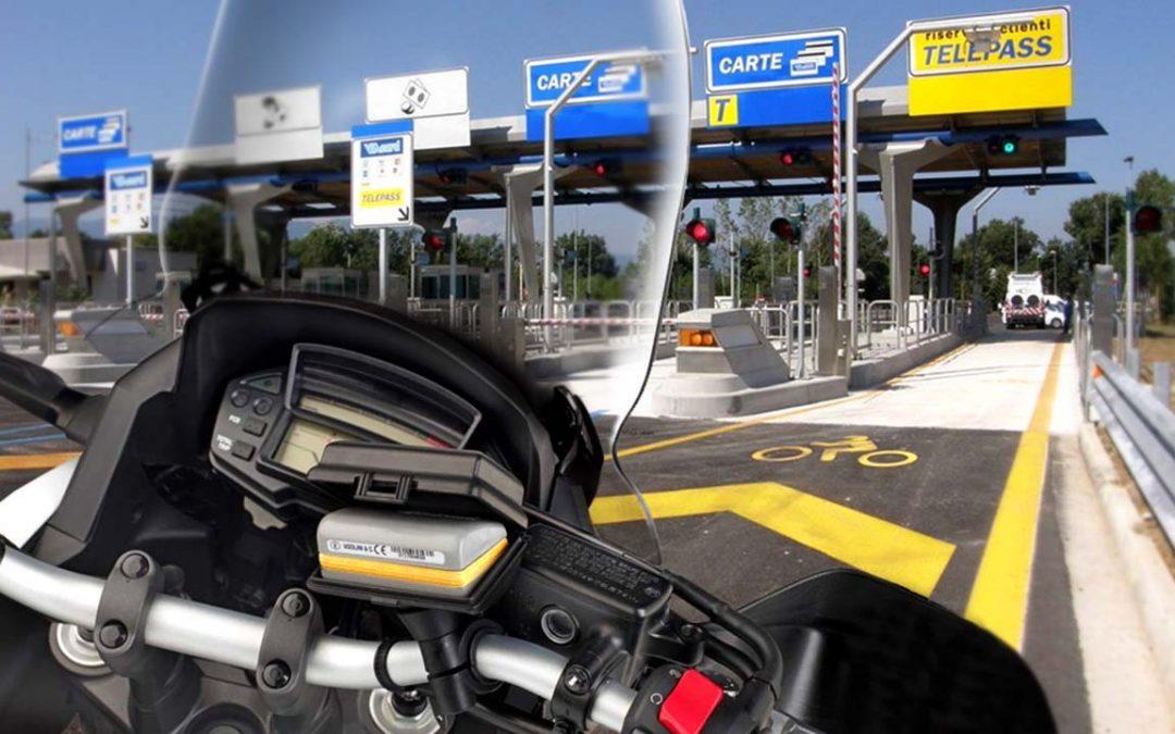 Telepedaggio e due ruote: sconto del 30% delle tariffe autostradali